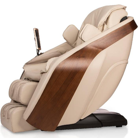 D.Core Cloud massage chair in side view, showing the left side.