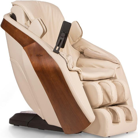 D.Core Cloud massage chair right side angled view.