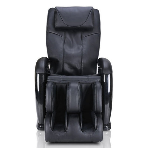 Ergotec ET-100 Mercury Massage Chair in Black Front View