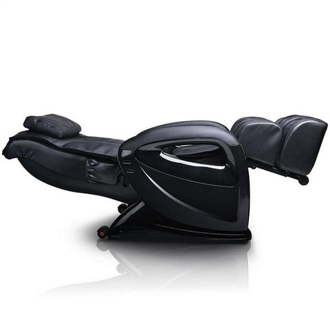 Ergotec ET-100 Mercury Massage Chair in Black Reclined Position