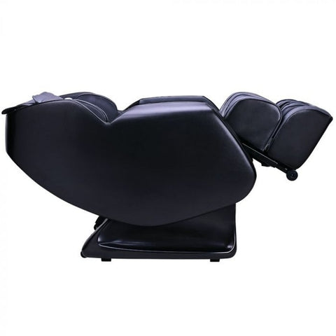 Ergotec ET-150 Neptune Massage Chair in Black & Grey Reclined Position