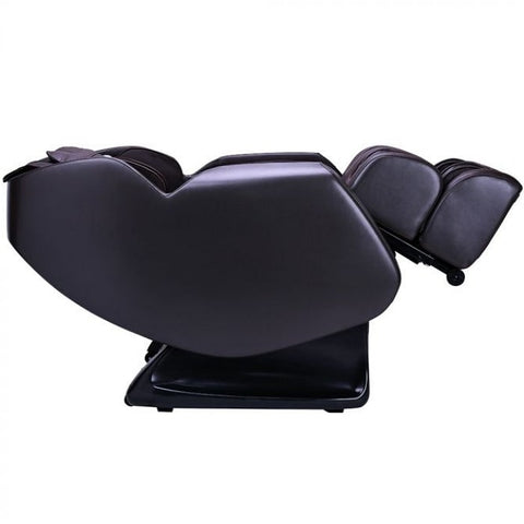 Ergotec ET-150 Neptune Massage Chair in Brown Reclined Position