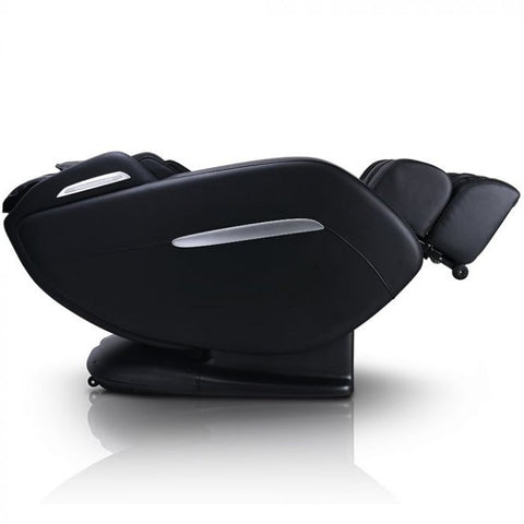 Ergotec ET-210 Saturn Massage Chair in Black Reclined Position