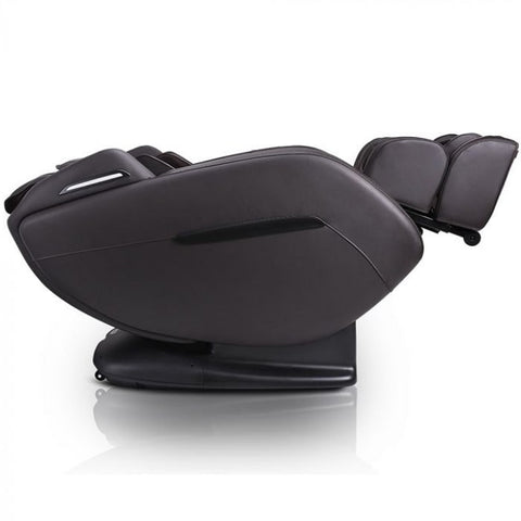 Ergotec ET-210 Saturn Massage Chair in Brown Reclined Position