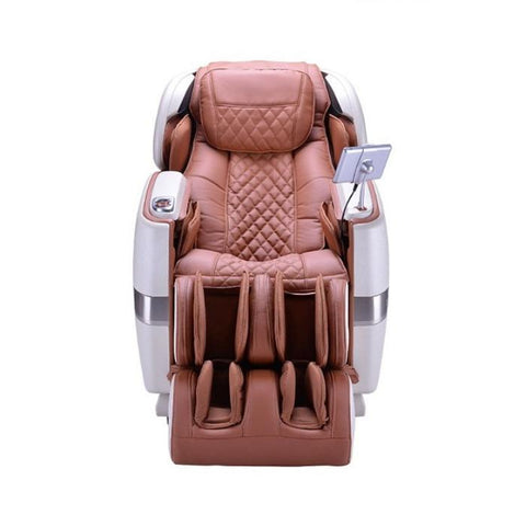 JPMedics Kumo 4D Massage Chair in cappuccino color front view