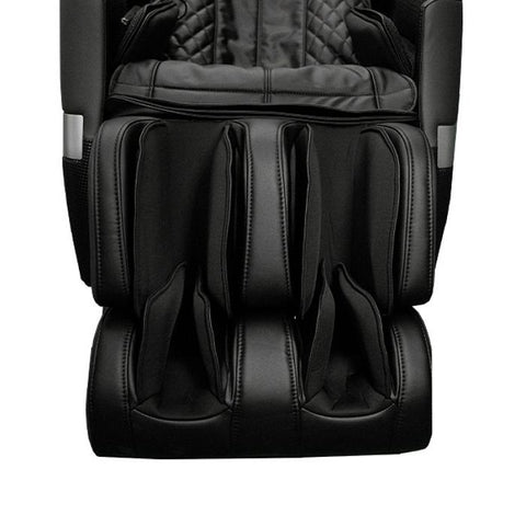 Osaki OS-Pro Honor 3D Massage Chair in black close up of footrest