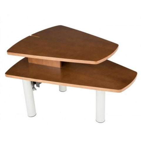 Human Touch Perfect Chair Media Table in Walnut