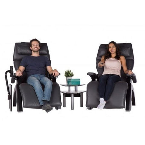 Human Touch Perfect Chair Media Table with two persons