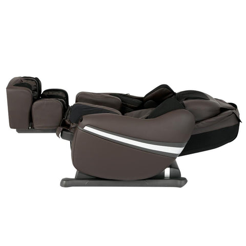 Inada Dreamwave brown color in reclined position.