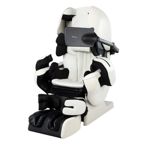Inada Robo in Ivory with Ivory color in a front view.