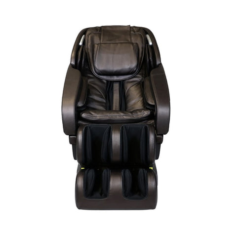 Infinity Altera Massage Chair in Brown Front View