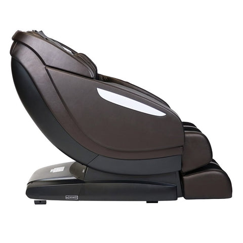 Infinity Altera Massage Chair in Brown Side View
