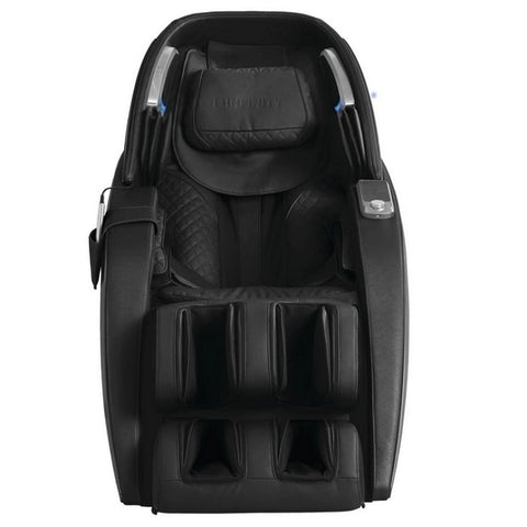 Infinity Dynasty 4D Massage Chair in Black Front View