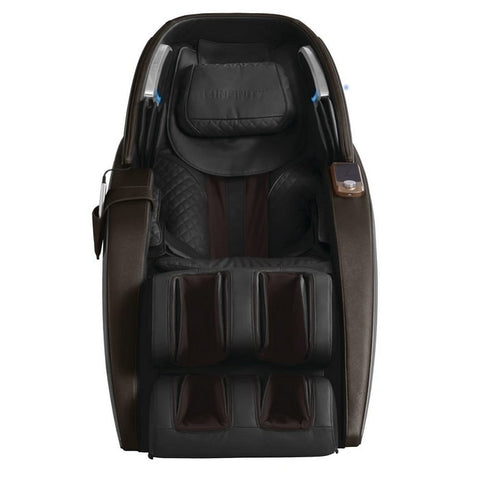 Infinity Dynasty 4D Massage Chair in Brown Front View