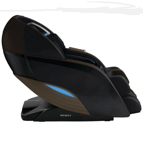 Infinity Dynasty 4D Massage Chair in Brown Side View