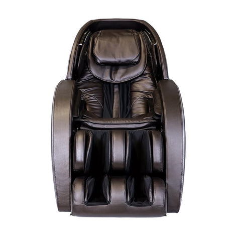 Infinity Genesis Massage Chair in Brown Front View
