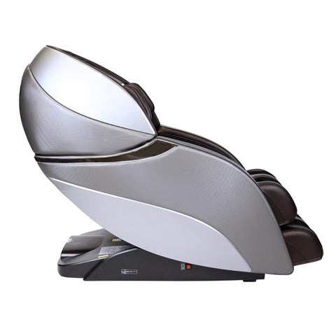 Infinity Genesis Massage Chair in Brown Side View