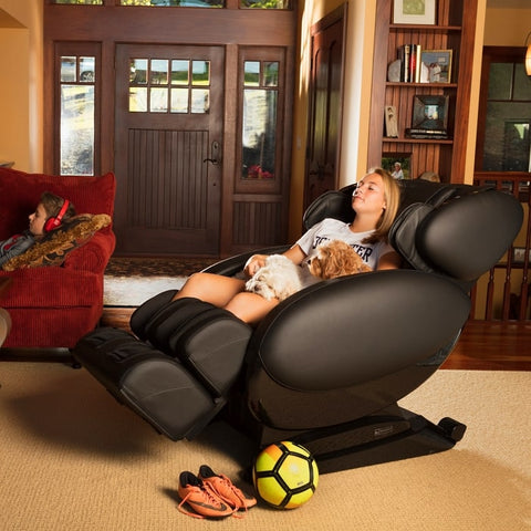 Infinity IT-8500 Massage Chair with Woman Sitting
