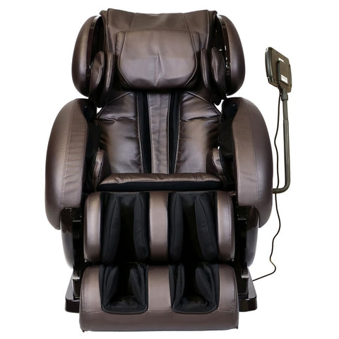 Infinity IT-8500 Massage Chair in Brown Front View