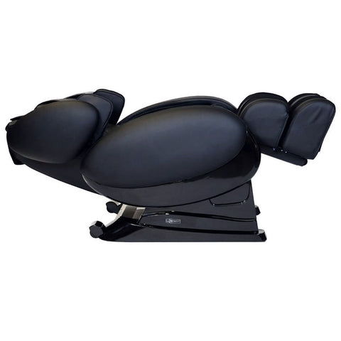 Infinity IT-8500 Plus Massage Chair in Black Reclined Position