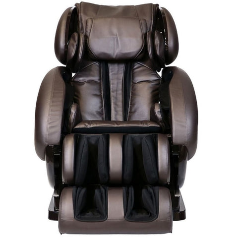 Infinity IT-8500 Plus Massage Chair in Brown Front View