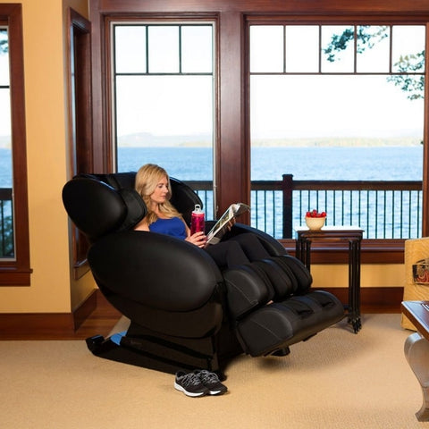 Infinity IT-8500 Plus Massage Chair with Woman Sitting