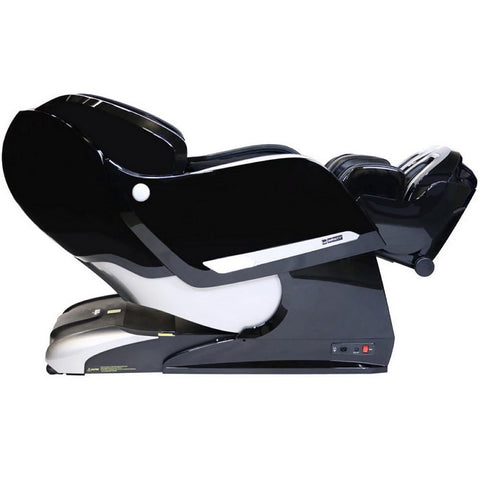 Infinity Imperial Massage Chair in Black Reclined Position