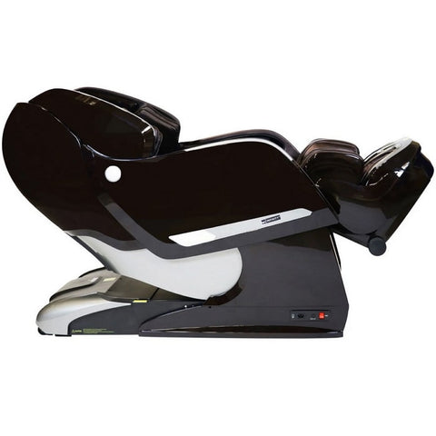 Infinity Imperial Massage Chair in Brown Reclined Position