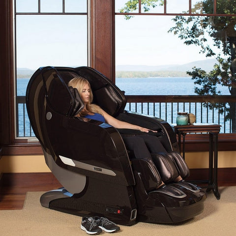 Infinity Imperial Massage Chair with Woman Sitting