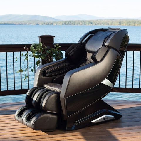 Infinity Riage X3 Massage Chair with Ocean Background