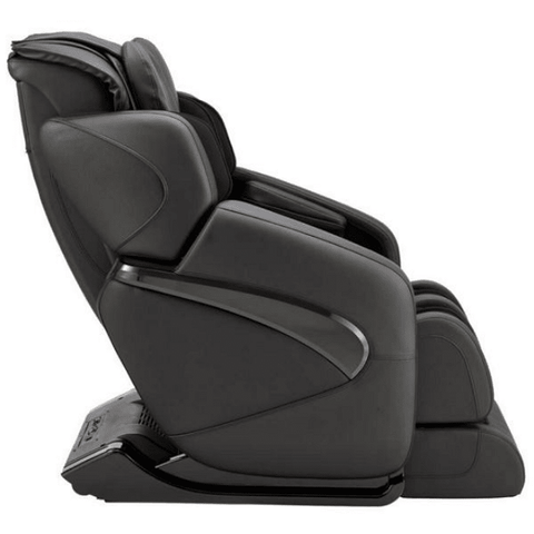 Inner Balance Wellness Jin Massage Chair in black side view angled