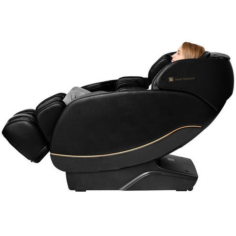 Inner Balance Jin 2.0 Massage Chair Black in Zero Gravity Position