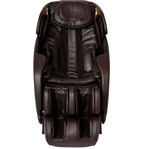 Inner Balance Jin 2.0 Massage Chair in Brown Front View