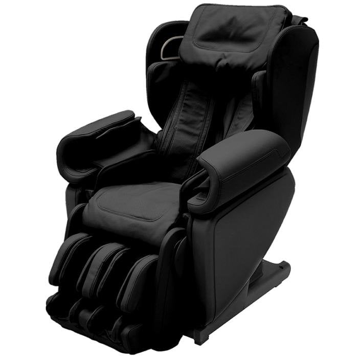 Synca Kagra J6900 Massage Chair in black angled view