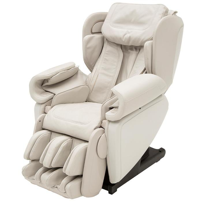 Synca Kagra J6900 Massage Chair in white angled view