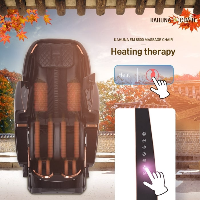Kahuna EM-8500 Massage Chair Heating Therapy