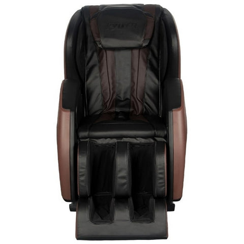 Kyota E330 Kofuko Massage Chair in Brown and Black Front View