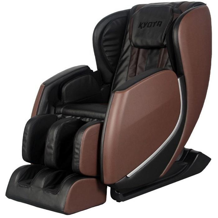 Kyota E330 Kofuko Massage Chair in Brown and Black