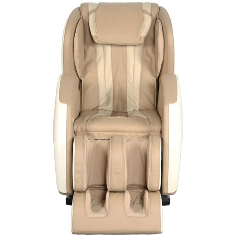 Kyota E330 Kofuko Massage Chair in Cream/Tan Front View