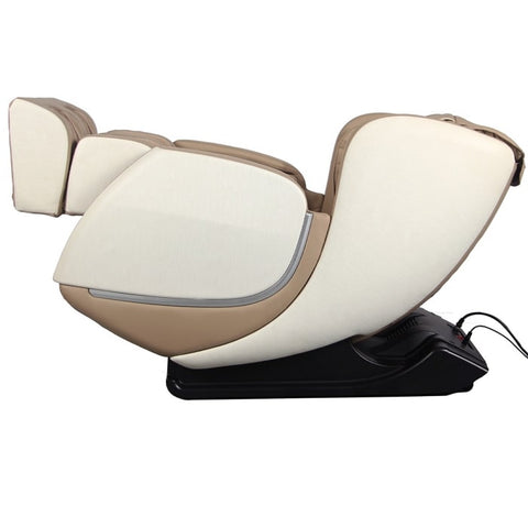 Kyota E330 Kofuko Massage Chair in Cream/Tan Zero Gravity Position