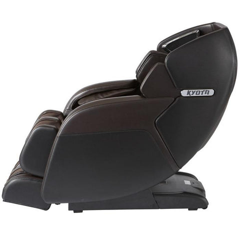 Kyota M673 Kenko Massage Chair in Brown Side View