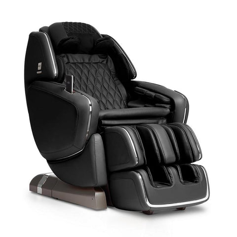 OHCO M.8 4D Massage Chair in black color semi side view