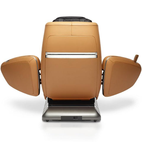 OHCO M.8 4D Massage Chair in saddle back open doors