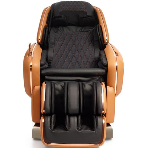OHCO M.8LE 4D Massage Chair in saddle front view closed doors