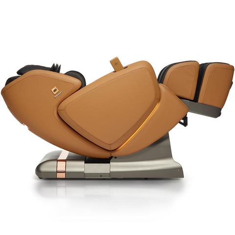 OHCO M.8LE 4D Massage Chair in saddle zero gravity angled