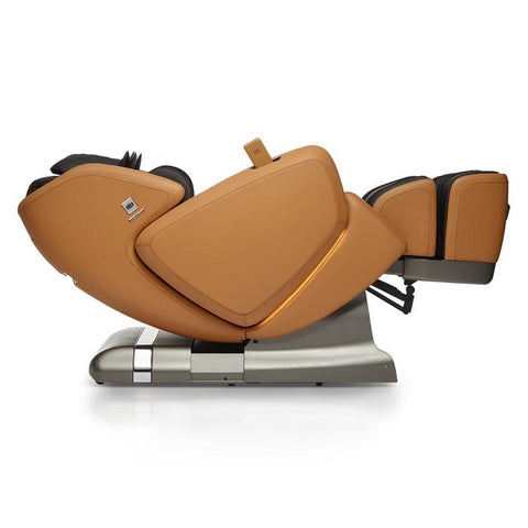 OHCO M.8 4D Massage Chair in saddle lay flat