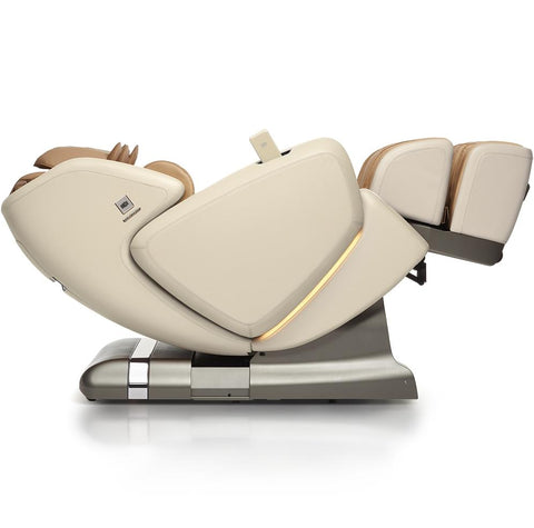 OHCO M.8 4D Massage Chair in pearl color zero gravity position