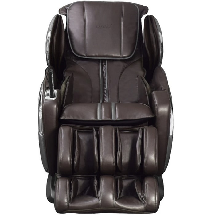 Osaki 4000LS Massage Chair in Brown Front View