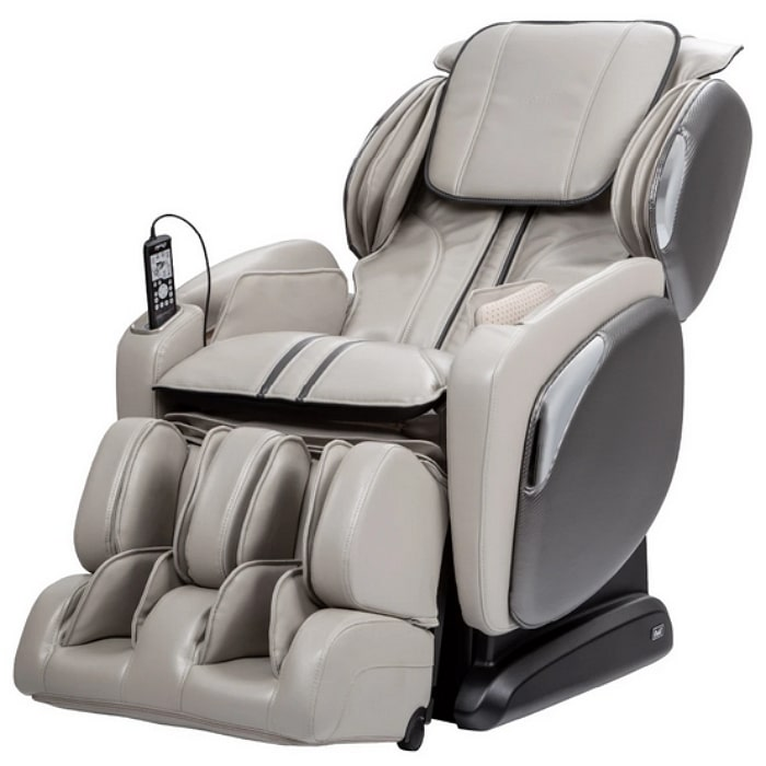 Osaki 4000LS Massage Chair in Taupe with White Background