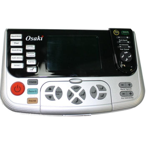 Osaki OS 4000T Massage Chair with close up remote controller
